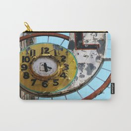 Hotel Clock Carry-All Pouch