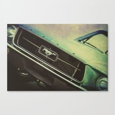 Galaxy Mustang Canvas Print