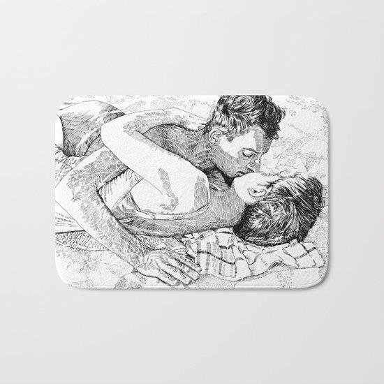 The kiss Bath Mat