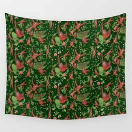 Orangutans in the Jungle Wall Tapestry