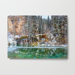 A Serene Chill Metal Print