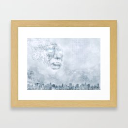 Poster - Mask Framed Art Print