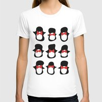 penguins T-shirts featuring Penguins by Flash Goat Industries