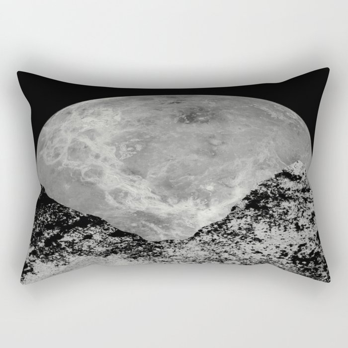 Lunar Rising Rectangular Pillow
