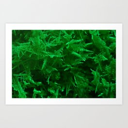 Green trees pt.1 Art Print