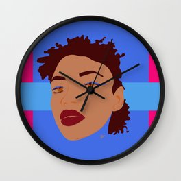 electric. eccentric. eclectic. Wall Clock