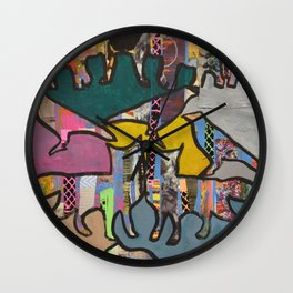Woodlands Wall Clock