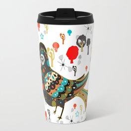 pretty lark Travel Mug