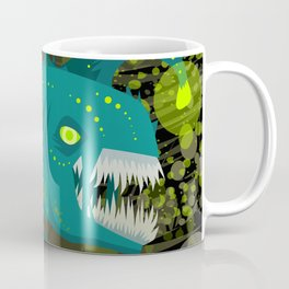 deep abyss light fish Coffee Mug