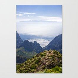 Tenerife's landscape Canvas Print