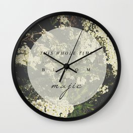 And that's magic. Wall Clock