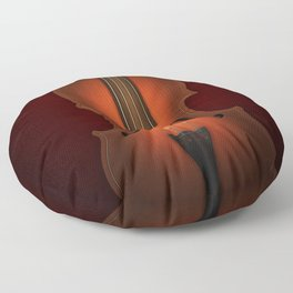 Straordinarius Stradivarius Floor Pillow