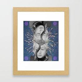 Twinz Framed Art Print