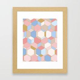 HEXROSE Framed Art Print