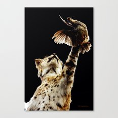 He Got Away Canvas Print