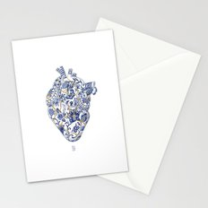 Broken heart - kintsugi Stationery Cards