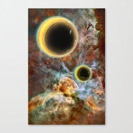 Crescent Mead Moons Canvas Print