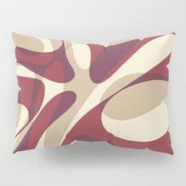 Bordeaux Wave Pillow Sham