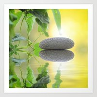 stone Art Prints featuring Stone by pf_photography
