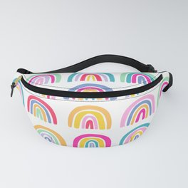 Colorful Rainbows Fanny Pack