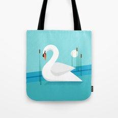 Majestic Swan Tote Bag