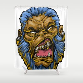 MeanMuggin Denominator Shower Curtain