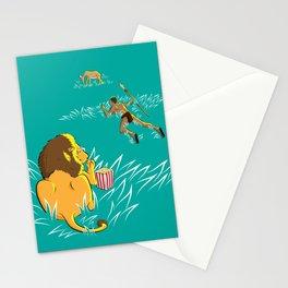 Popcorn Predator Stationery Cards