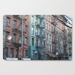 St. Marks Place East Village Apartments Cutting Board