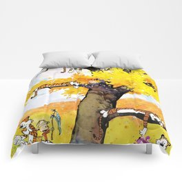Calvin And Hobbes Character Comforters