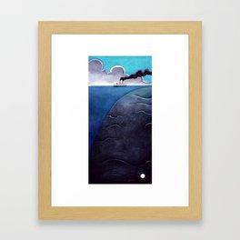 Leviatan. Framed Art Print
