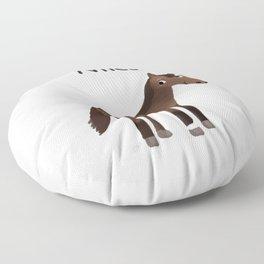 "Custom Artwork, ""Niles"" Floor Pillow"
