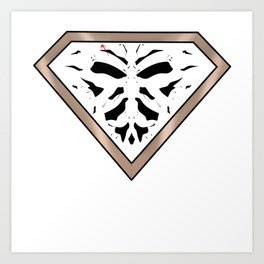 Rorschach - It Stands for Nope Art Print