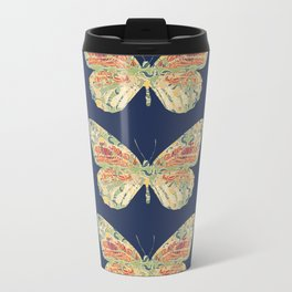 Butterflies Metal Travel Mug