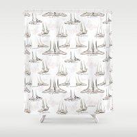 ballet Shower Curtains featuring Ballet by Moira Birch Swiatkowski