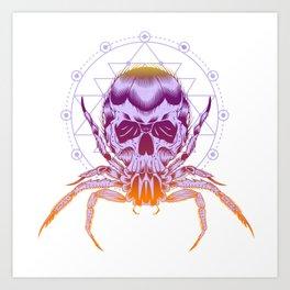The Crab Zodiak Sign Art Print