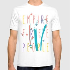 the enlightened one White Mens Fitted Tee SMALL