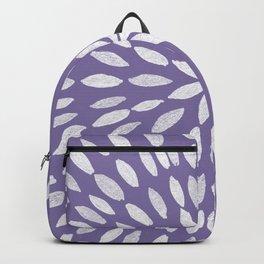 Mandala Flower #4 #UltraViolet #drawing #decor #art #society6 Backpack
