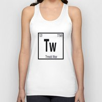 periodic table Tank Tops featuring Periodic  by Threads Wear