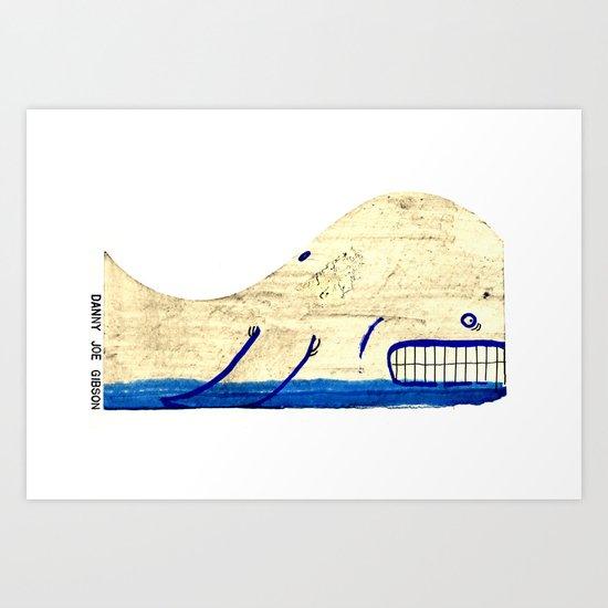 Skipping Over the Ocean, Like a Stone... Art Print