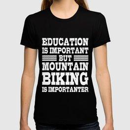 MOUNTAINBIKE MTB Funny Cycling Gift Bicycle Rider T-shirt