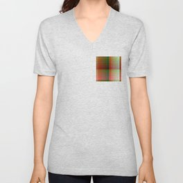 Color harmony ...red , green Unisex V-Neck