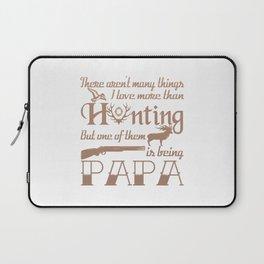 Hunting Papa Laptop Sleeve