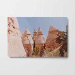 Tent Rocks / New Mexico Metal Print