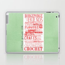 HodgePodge Crochet Groupie 2015 Laptop & iPad Skin