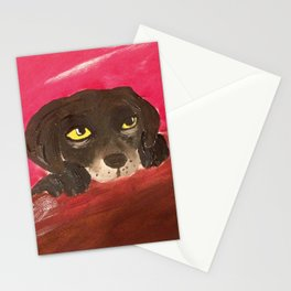 Jake, the Baby Labrador Stationery Cards