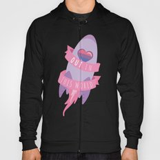 OUT in This world - Bi Pride Hoody