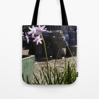 easter Tote Bags featuring Easter by Julie Camino Photography