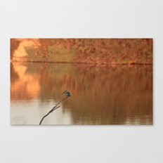 Red Water Canvas Print