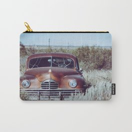 Vintage Rusty Packard Abandoned in New Mexico off Route 66 Carry-All Pouch