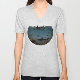 Sea Kayaking Unisex V-Neck